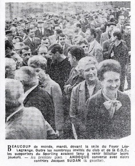 - SCG - Ovale CINZANO - 20 mai 1966