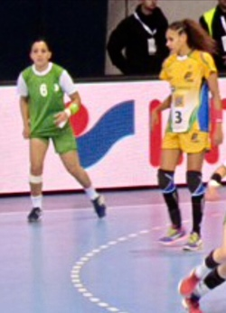 DOB Nassima 2013 Championnat du Monde contre le Brésil