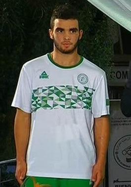 Nouveau Maillot de foot Algérie Olympiques 2016 pas cher