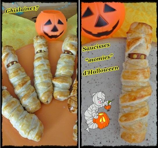 """Saucisses """"momies"""" d'Halloween"""