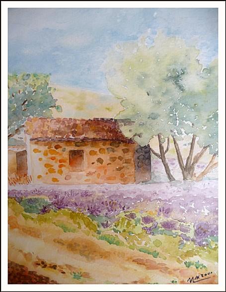 provence aquarelle