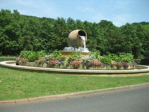 La fontaine de Combo les Bains