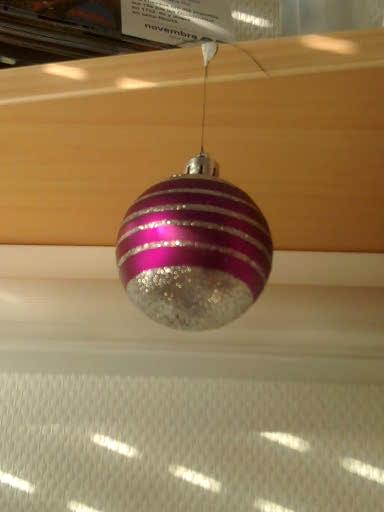Boule de Noël solitaire