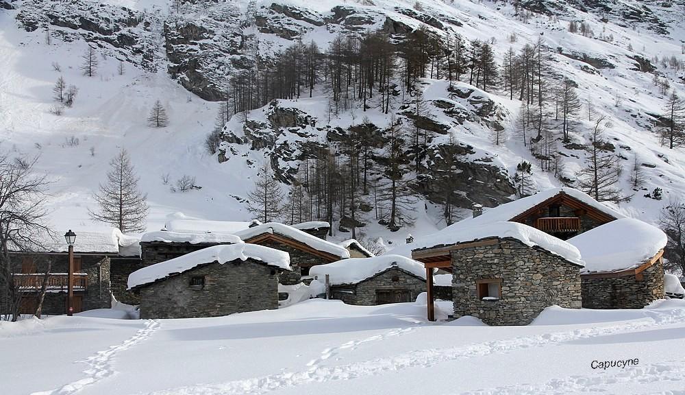 Neige : 1 -villages féériques