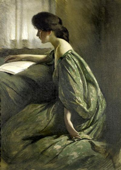06 - Femmes lisant - Peintures 19 ème