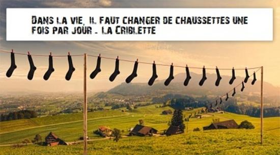 changer chaussettes