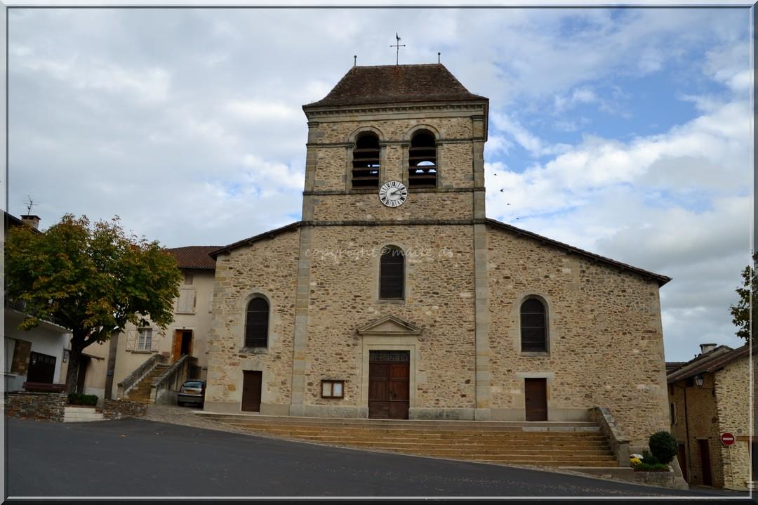 Eglise de Bagnac-sur-Célé    Lot