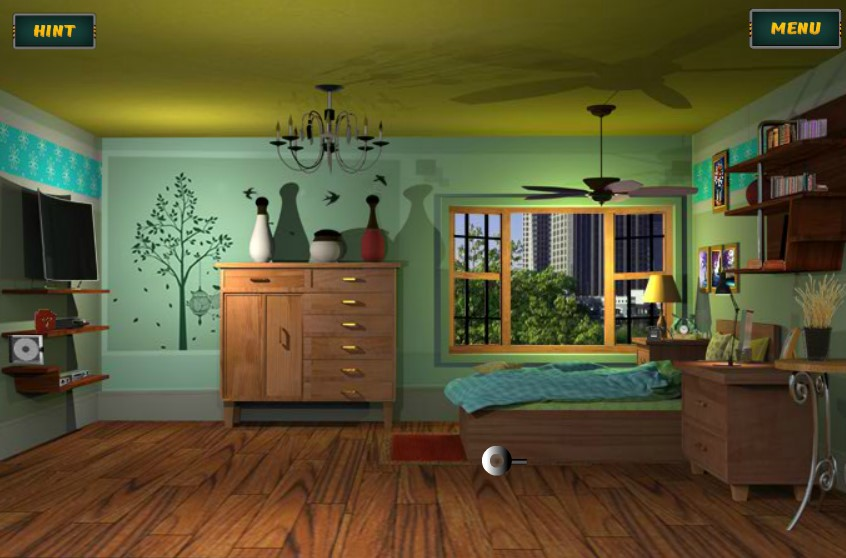 Jouer à Rooms in the house escape 02