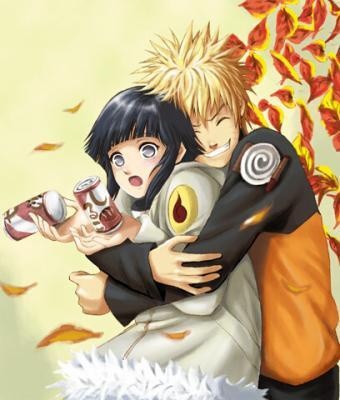 Voila Naruto mon personnage favoris avec Hinata