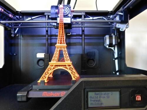 imprimante 3D BHV tour Eiffel