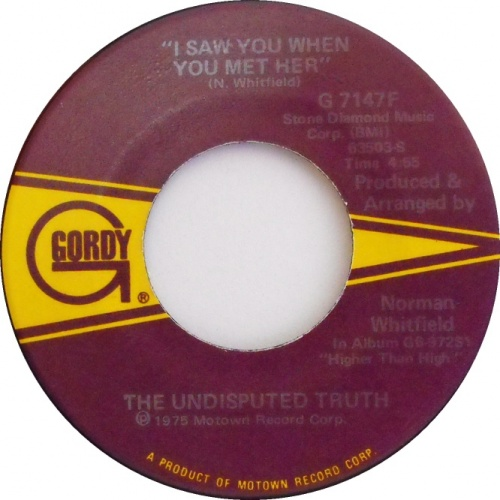 1976 : Single SP Gordy Records G 7147F [ US ]