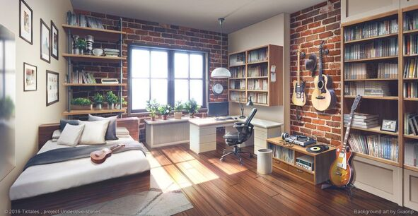 """Résultat de recherche d'images pour """"visual novel background bedroom space"""""""