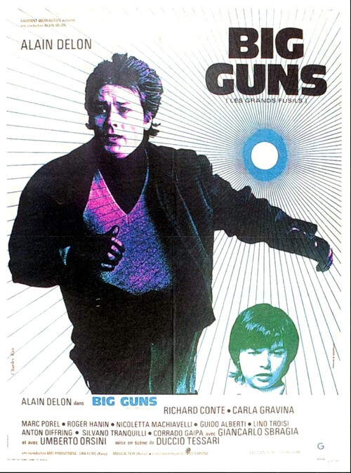 BIG GUNS - ALAIN DELON BOX OFFICE 1973