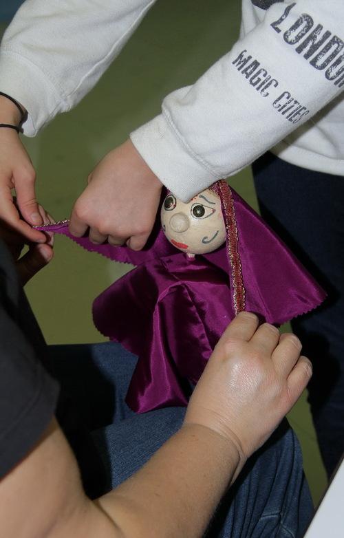Projet marionnettes numéro 1