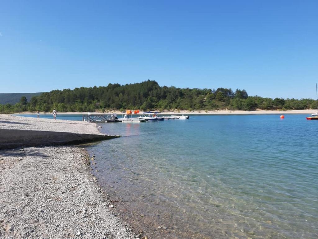 Le lac de Sainte Croix dans les Gorges du Verdon !
