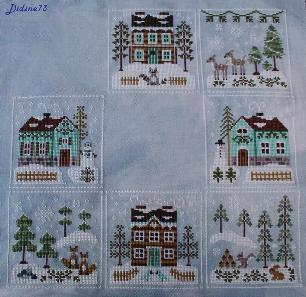 Frosty Forest - étape 1 à 7