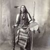 Black Fox. Arapaho. 1898. Photo by F.A. Rinehart. Source - Omaha Public Library.