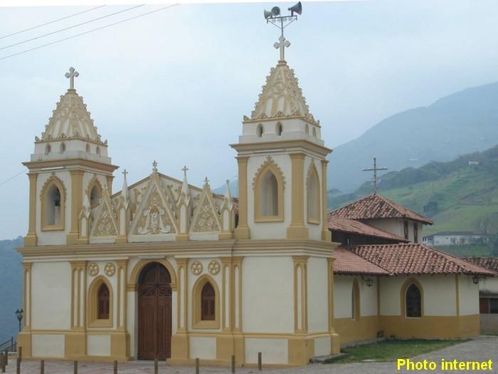 Venezuela , San-Cristobal ,Eglise de Monte Carmelo