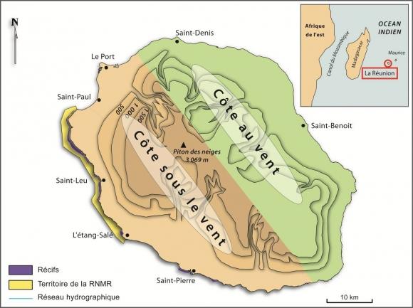 Résultats de recherche d'images pour «carte de la réunion lagon réserve marine»