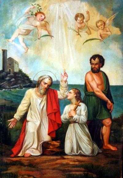 Saints Nazaire et Celse. Martyrs à Milan