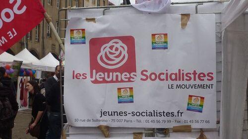 Manifestation de gauche homo bi trans