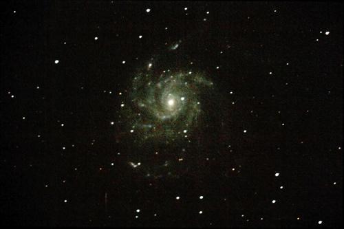 M101, juillet 2010, premier essais...