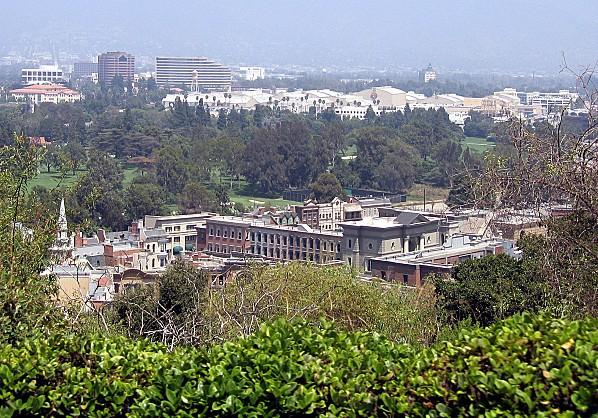 Los Angeles Studio Universal décors