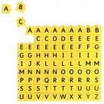 Brevet Morphun (lettres majuscules et minuscules)