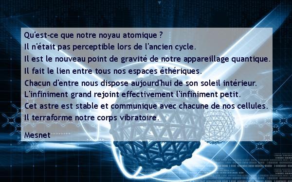 2 : Notre noyau atomique
