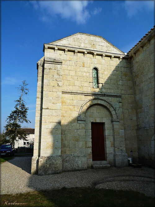 Photo de Notre Dame de Benon en Aquitaine