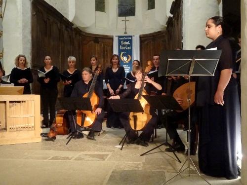 Concert final de la semaine musicale de Saint Vorles..