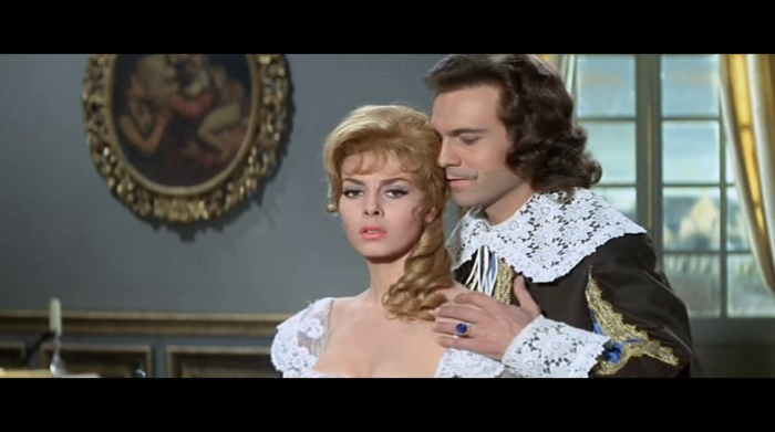 ANGELIQUE MARQUISE DES ANGES - MICHELE MERCIER BOX OFFICE 1964