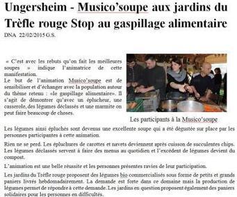 Musico'soupe à Ungersheim le 19 février