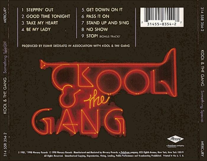 "Kool & The Gang : Album "" Something Special "" De-Lite Records DSR 8502 [ US ]"