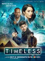 Timeless : Un trio improbable, composé d'une enseignante en histoire, d'un militaire et d'un scientifique, voyage à travers le temps afin d'arrêter un dangereux criminel, désireux de modifier le cours de l'Histoire telle que nous la connaissons. ... ----- ...  la serie : Américaine Saison : 1 saison Episodes : 13 épisodes Statut : En production Réalisateur(s) : Shawn Ryan, Eric Kripke Acteur(s) : Abigail Spencer, Matt Lanter, Malcolm Barrett Genre : Aventure, Science fiction, Action Critiques Spectateurs : 3.4