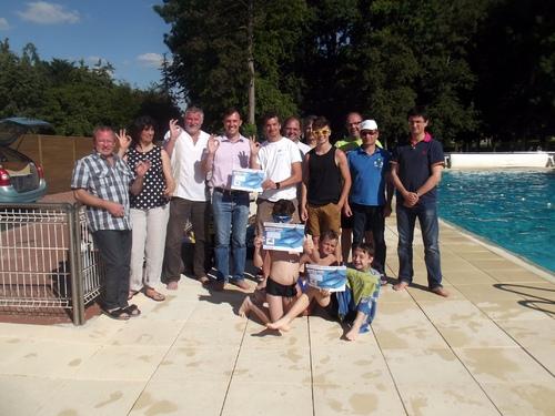 Baptême de plongée à la piscine de Janville, par le club d'Auneau