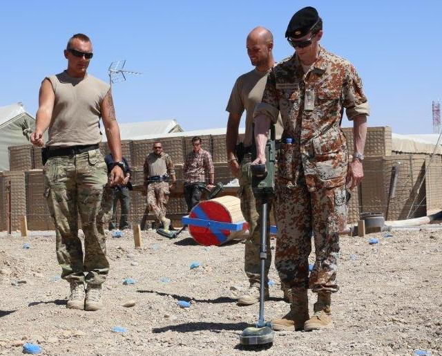 Frederik au camp Bastion
