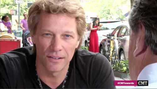 jon bon jovi CMT awards 6 juin 2012