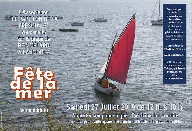 Samedi 27 Juillet 2019 - 5ème Fête de la Mer