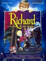 Richard au pays des livres magiques affiche