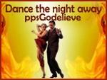 DANCE  THE  NIGHT  AWAY  (En Français  -  Danser toute le Nuit)  PPS  de chez GODELIEVE