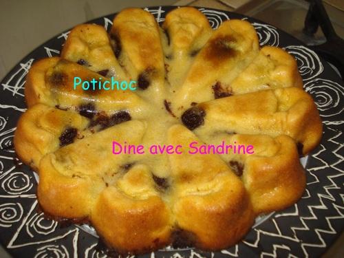 Le Potichoc, autrement dit Le Gâteau Potiron-Chocolat
