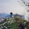 Arrivée au sommet du Soum de las Picarras (1349 m)
