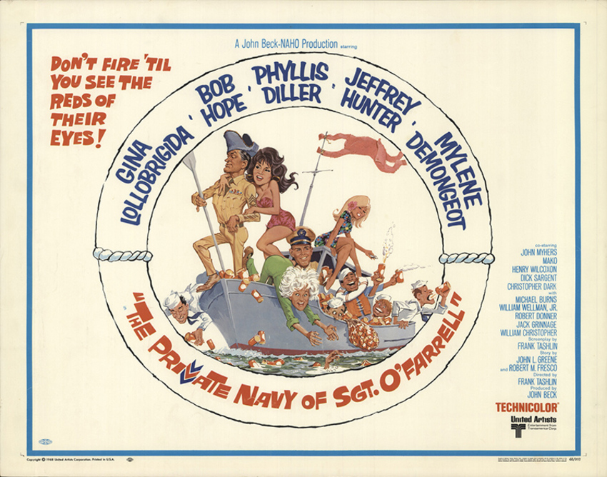 THE PRIVATE NAVY OF SGT.O'FARRELL BOX OFFICE 1968
