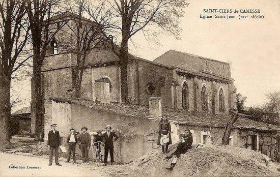 Eglise Saint-Jean à Saint-Ciers-de-Canesse