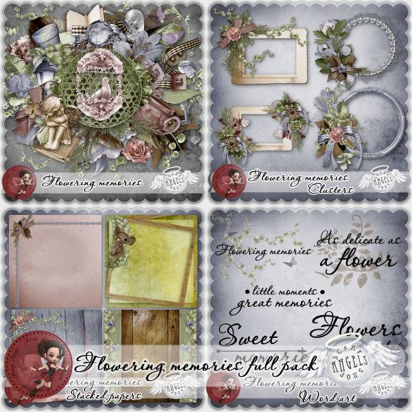 """""""Flowering Memories"""" de Scra'Angie"""