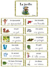 Vocabulaire - autour du jardin