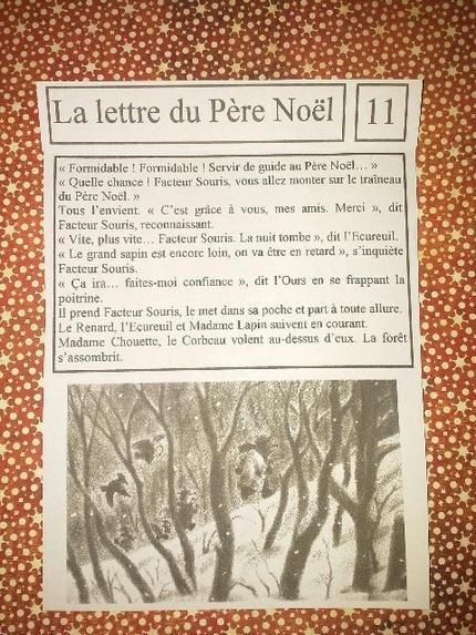 """-"""" La lettre du Père Noël (10 et 11)"""