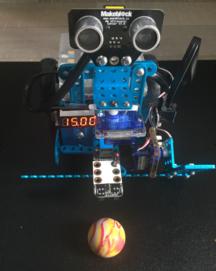mBot - Compteur sur afficheur 7 segments