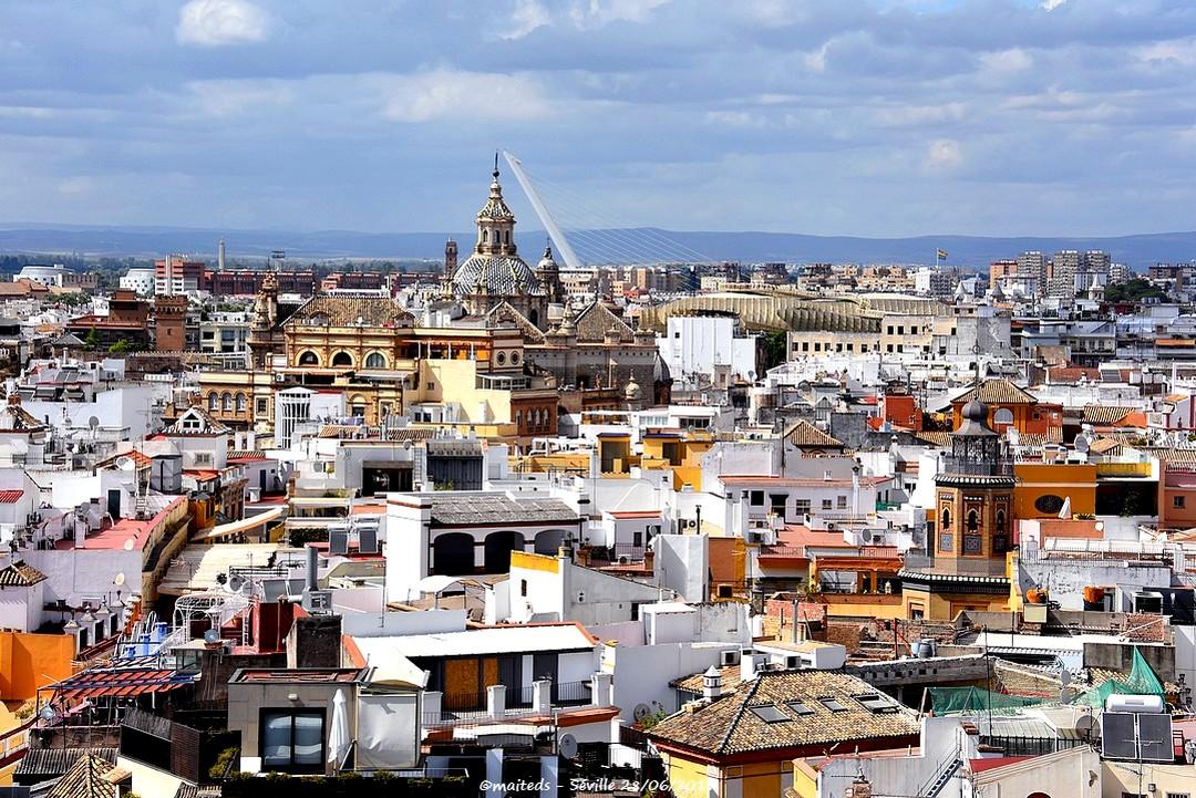 Vue sur les toits de Séville